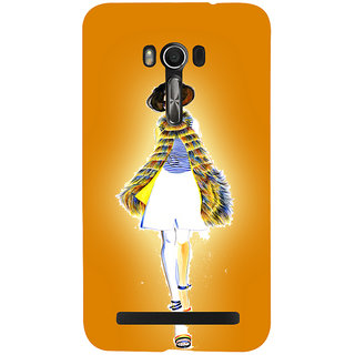 Snapdilla Yellow Background Trendy Classic Fashion Girl Unique Phone Case For Asus Zenfone Go ZC500TG