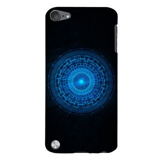 Snapdilla Cool Crazy Digital Sci-Fi Blue Wheel Unique Superb Mobile Case For Apple IPod Touch 5