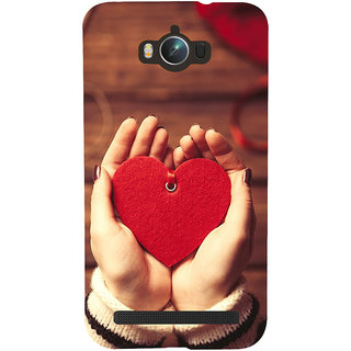 Snapdilla Lovely Artistic Valentine Red Little Heart Gift Superb Cell Cover For Asus Zenfone Max ZC550KL :: Asus Zenfone Max ZC550KL 2016 :: Asus Zenfone Max ZC550KL 6A076IN