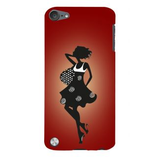 Snapdilla Stylish Fashion Modern Trendy Girl Page3 Vogue Red Color Smartphone Case For Apple IPod Touch 5
