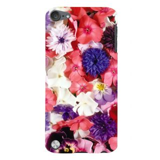 Snapdilla Artistic Lovely Floral Background Colorful Flowers Wifes Gift Smartphone Case For Apple IPod Touch 5