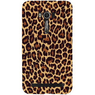 Snapdilla Cheetah Leopard Leather Tiger Skin Background Different Phone Case For Asus Zenfone Go ZC500TG