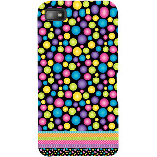 Snapdilla Colourful Bubbles Pattern Lovely Simple Cool Mobile Pouch For BlackBerry Z10