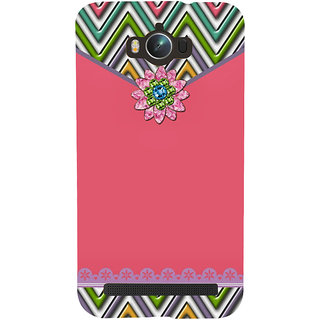 Snapdilla Awesome Pink Pouch Envelope Lovely Pattern Phone Case For Asus Zenfone Max ZC550KL :: Asus Zenfone Max ZC550KL 2016 :: Asus Zenfone Max ZC550KL 6A076IN