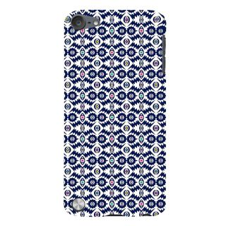 Snapdilla Gorgeous Blue Pattern Artistic Cute Cultural Best 3D Print Cover For Apple IPod Touch 5
