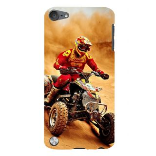 Snapdilla Desert Sand Motorcycle Rider Awesome Unique Designer Case For Apple IPod Touch 5
