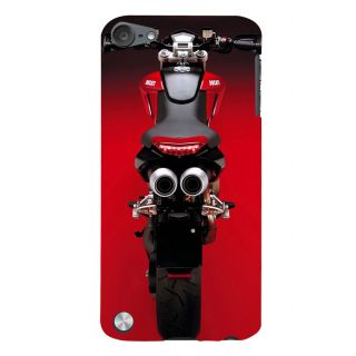 Snapdilla Red Heavenly Luxury Ride Motorcycle Biker Ride Cell Cover For Apple IPod Touch 5