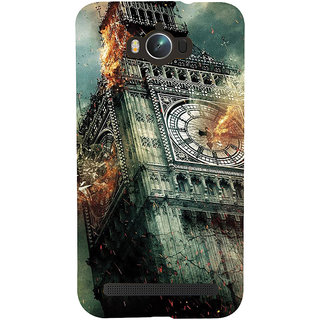 Snapdilla Amazing London Clock Tower Broken Hollywood Excellent Hd Print Mobile Pouch For Asus Zenfone Max ZC550KL :: Asus Zenfone Max ZC550KL 2016 :: Asus Zenfone Max ZC550KL 6A076IN