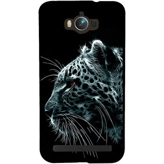 Snapdilla Awesome Cool Black Background Graphic Animation Tiger Art Smartphone Case For Asus Zenfone Max ZC550KL :: Asus Zenfone Max ZC550KL 2016 :: Asus Zenfone Max ZC550KL 6A076IN