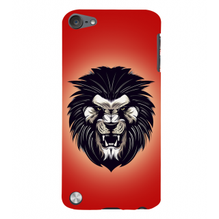 Snapdilla Artistic Modern Clipart King Of The Jungle Roaring Lion Mobile Cover For Apple IPod Touch 5