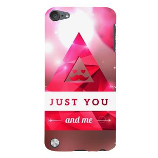 Snapdilla Pink Color Just Married You And Me Quote Gift For Girlfriend Smartphone Case For Apple IPod Touch 5