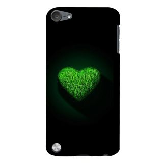 Snapdilla Heart Shaped Nature Love Green Heart I Love You Unique Phone Case For Apple IPod Touch 5