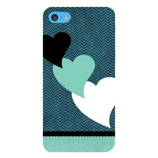 Snapdilla Simple Pattern Blue Background Lovely Hearts Classic Best Mobile Cover For Apple IPod Touch 6