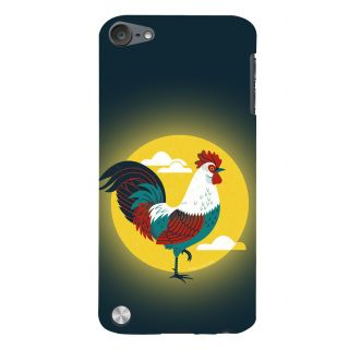 Snapdilla Sunrise Village Style Colorful Chicken Cock Modern Art Mobile Case For Apple IPod Touch 5