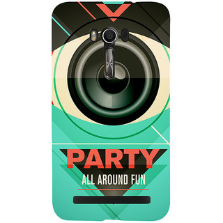 Snapdilla Club Theme Party All Around Fun Best Pub Quote Rock Star Night Mobile Cover For Asus Zenfone Go ZC500TG