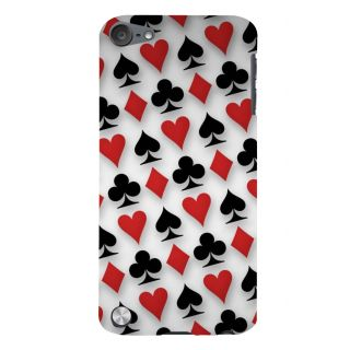 Snapdilla Playing Card Deck Spades Ace Hearts Daimond Jacky Lovers Designer Case For Apple IPod Touch 5