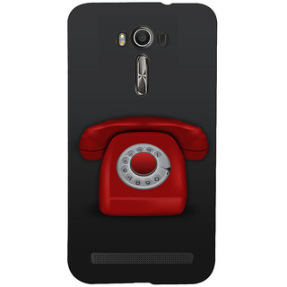 Snapdilla Cool Background Red Color Classic Vintage Telephone Unique Cell Cover For Asus Zenfone 2 Laser ZE601KL