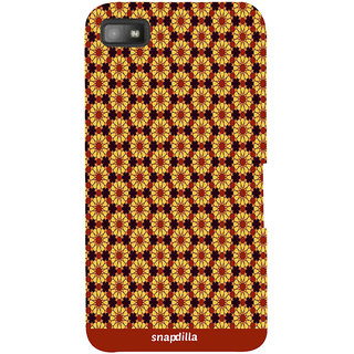 Snapdilla Colourful Artistic Floral Pattern Modern Stylish Looking Awesome Designer Case For BlackBerry Z10