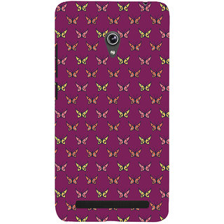 Snapdilla Colorful Pretty Looking Butterfly Pretty Artistic Cool Stunning Back Cover For Asus Zenfone 5