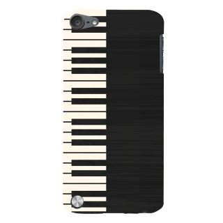 Snapdilla Artistic Clipart Black  White Piano Music Lovers Stylish Mobile Cover For Apple IPod Touch 5
