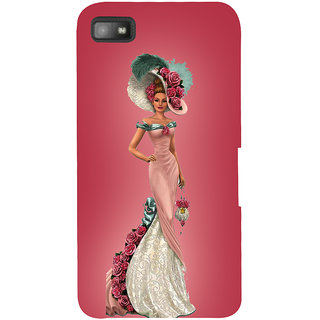 Snapdilla Fashion Trendy Ultra Modern Animated Girl Vogue Mobile Case For BlackBerry Z10