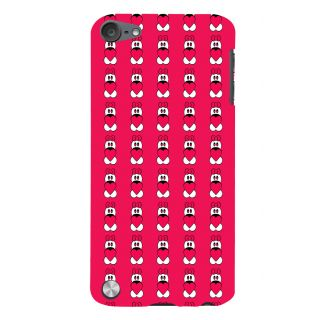Snapdilla Valentine Clipart Pink Color Cartoon Pattern Girl Phone Case For Apple IPod Touch 5