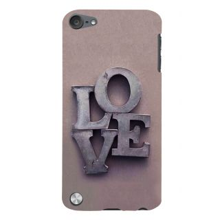 Snapdilla Light Background Memorial Feel Good Love Back Cover For Apple IPod Touch 5