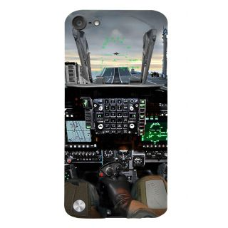 Snapdilla Animated Aeroplane Landing And Take Off Pilot Cabin Smartphone Case For Apple IPod Touch 5