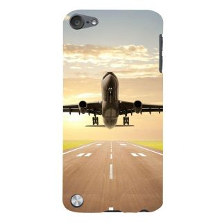 Snapdilla Stunning Runway Airplane Takeoff Sunset Lovers Mobile Case For Apple IPod Touch 5