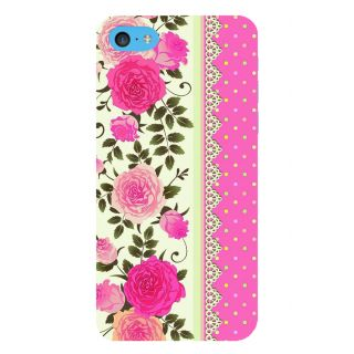 Snapdilla Simple Good Looking Cool Pink Lovely Roses Superb 3D Print Cover For Apple IPod Touch 6