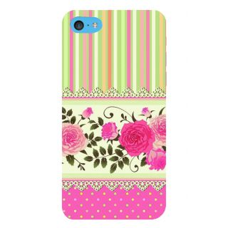 Snapdilla Colorful Pink Pattern Rangoli Lace Roses Different Mobile Pouch For Apple IPod Touch 6