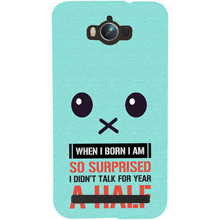 Snapdilla Blue Background Lovely Face Funny Quote Cool Designer Case For Asus Zenfone Max ZC550KL :: Asus Zenfone Max ZC550KL 2016 :: Asus Zenfone Max ZC550KL 6A076IN