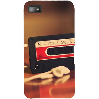 Snapdilla Unique Childhood Love Music Casette Cute I Say 3D Print Cover For BlackBerry Z10