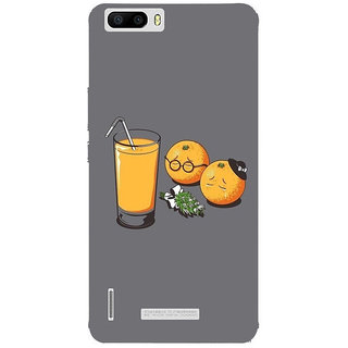 Unique Print Back Cover For Huawei Honor 6 Plus