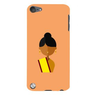 Snapdilla Light Colour Unique Traditional Clipart Orthodox Woman Cell Cover For Apple IPod Touch 5