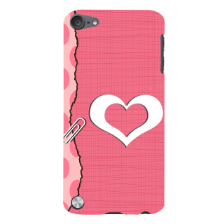 Snapdilla Pink Background Good Looking Little Heart Gift For Girlfriend Smartphone Case For Apple IPod Touch 5