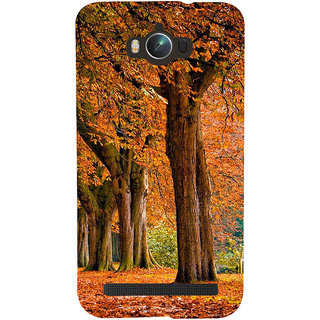 Snapdilla Bright Trees Background Beautiful Winter Autumn Leaves Scenery Phone Case For Asus Zenfone Max ZC550KL :: Asus Zenfone Max ZC550KL 2016 :: Asus Zenfone Max ZC550KL 6A076IN