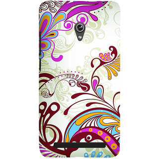 Snapdilla Artistic Floral Rangoli Pattern Sober Peacock Design Good Looking Phone Case For Asus Zenfone 5