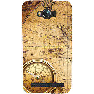 Snapdilla Vintage Ancient Old Golden Compass Globe Map British Mobile Pouch For Asus Zenfone Max ZC550KL :: Asus Zenfone Max ZC550KL 2016 :: Asus Zenfone Max ZC550KL 6A076IN