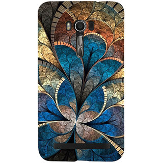 Snapdilla Unique Colourful Animated  Floral Classic 3D Superb Stylish Cell Cover For Asus Zenfone Go ZC500TG