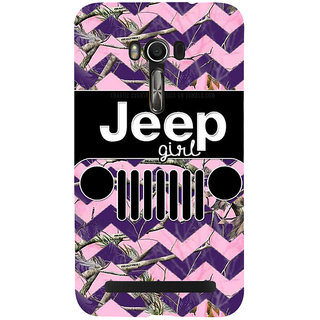 Snapdilla Lovely Cute Different Pattern Vintage Jeep Girl Quote Simple Best Designer Case For Asus Zenfone Go ZC500TG