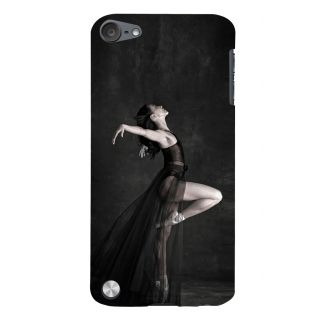 Snapdilla Black Background Stylish Sexy Ballet Dancing Page 3 Girl Designer Case For Apple IPod Touch 5