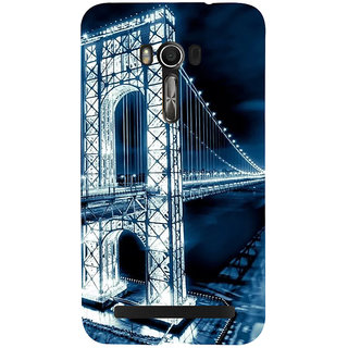 Snapdilla Beautiful San Francisco Night Life Golden Gate Bridge Amazing Architecture Smartphone Case For Asus Zenfone Go ZC500TG