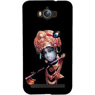 Snapdilla Religious Devotional Indian Lord Hare Krishna Venumadhava Flute Back Cover For Asus Zenfone Max