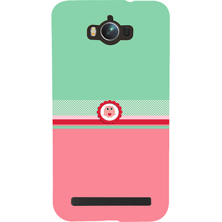 Snapdilla Green  Pink Color Background Adorable Cute Little Owl Mobile Cover For Asus Zenfone Max