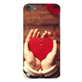 Snapdilla Lovely Artistic Valentine Red Little Heart Gift Superb Cell Cover For Apple IPod Touch 5