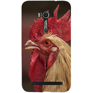 Snapdilla Dark Background Unique Fighting Chicken Cock Godavari Pandem Kodi Mobile Case For Asus Zenfone Go ZC500TG