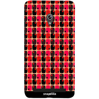 Snapdilla Wonderful Hearts Pattern Stylish Beautiful Superb Excellent 3D Print Cover For Asus Zenfone 5