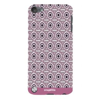 Snapdilla Awesome Round Pattern Stylish Simple Looking Trendy Mobile Case For Apple IPod Touch 5
