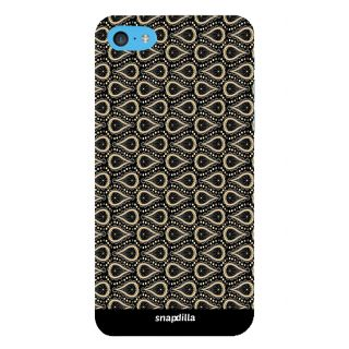 Snapdilla Awesome Stylish Simple Looking Water Drop Pattern Stunning Trendy 3D Print Cover For Apple IPod Touch 6